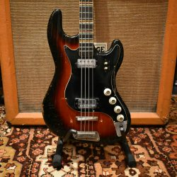 Vintage 1963 Hofner Super Solid 185 Sunburst Bass Guitar Cased