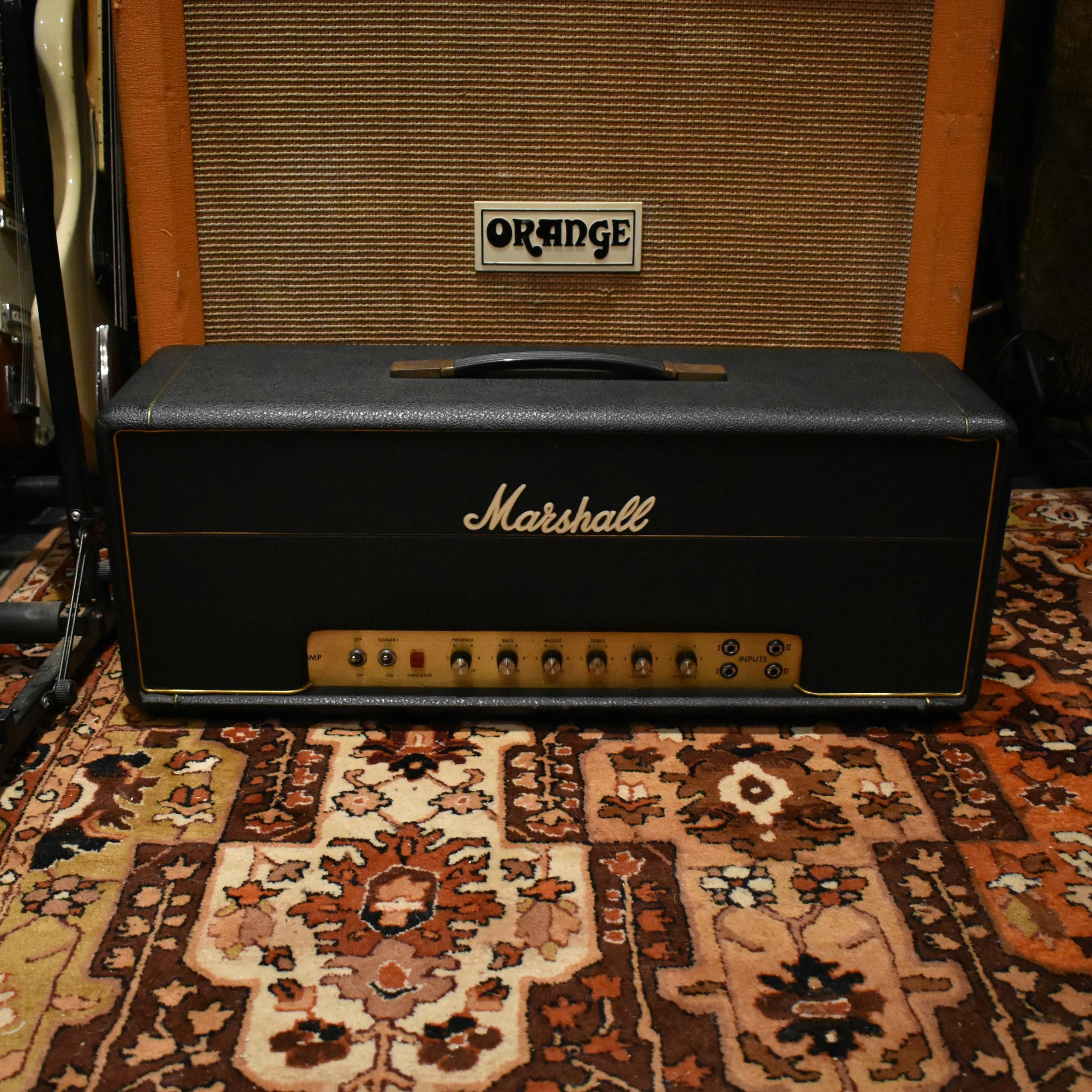 Vintage 1973 Marshall JMP Organ 50w Guitar Valve Amplifier Head