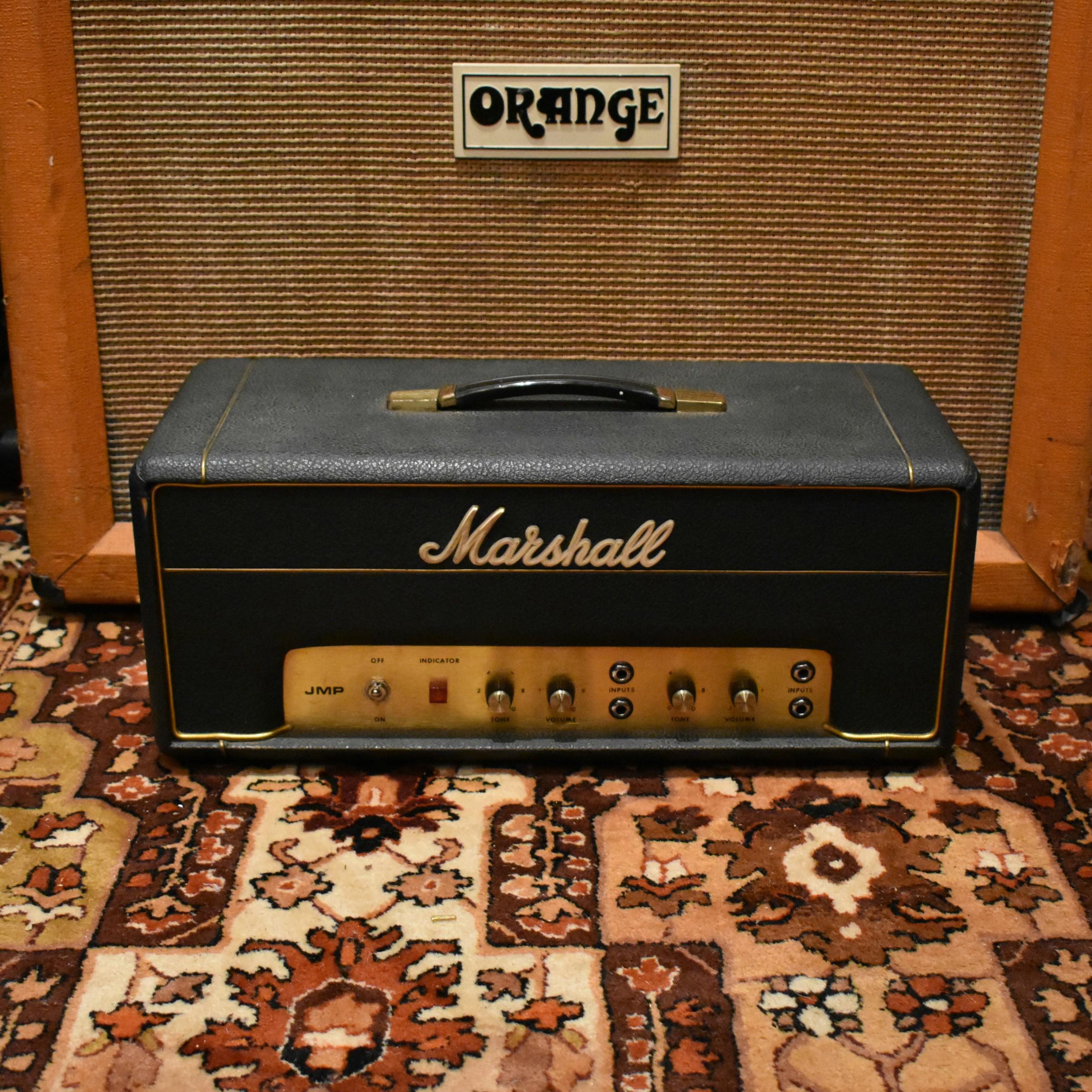 Vintage 1971 Marshall JMP PA20 Valve Guitar Head Original Cover