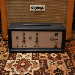 Vintage 1970s Selmer Treble N Bass 50w Valve Amplifier