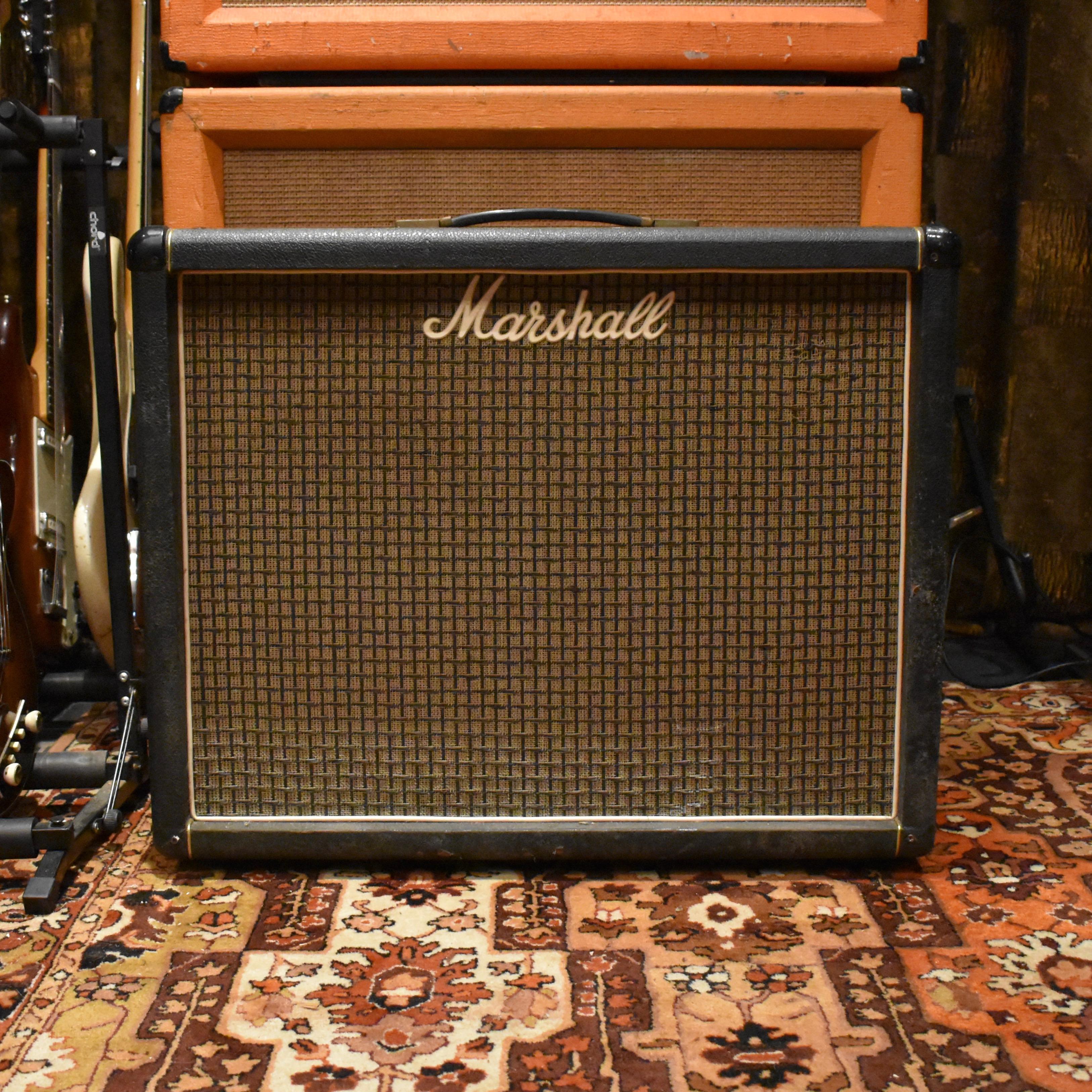 Vintage 1974 Marshall JMP 2x12 2045 Amplifier Cabinet Celestion Speakers