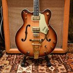 Vintage 1966 Gretsch Viking G6187 Two Tone Sunburst Guitar OHSC