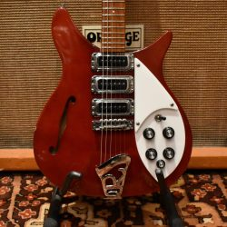 Vintage 1979 Rickenbacker 320 Ruby Red Short Scale Electric Guitar