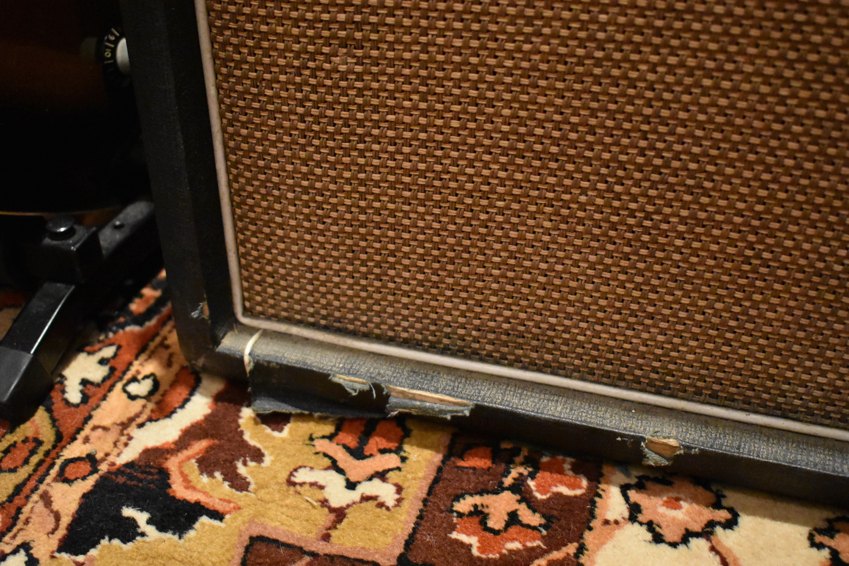vintage 1971 hiwatt se4122 4x12 guitar amplifier speaker cabinet. Black Bedroom Furniture Sets. Home Design Ideas