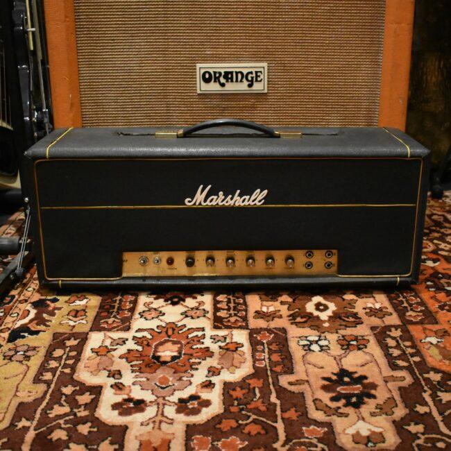 Vintage 1969 Marshall JMP Super Bass 100w Valve Amplifier Head