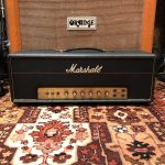 Vintage 1969 Marshall JMP 50 Watt Valve Amplifier Head