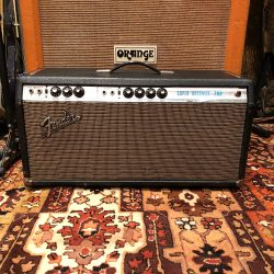 Vintage 1969 Fender Super Bassman Silverface Original Valve Amplifier