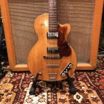 Vintage 1959 Hofner Club 50 Natural Blonde Electric Guitar
