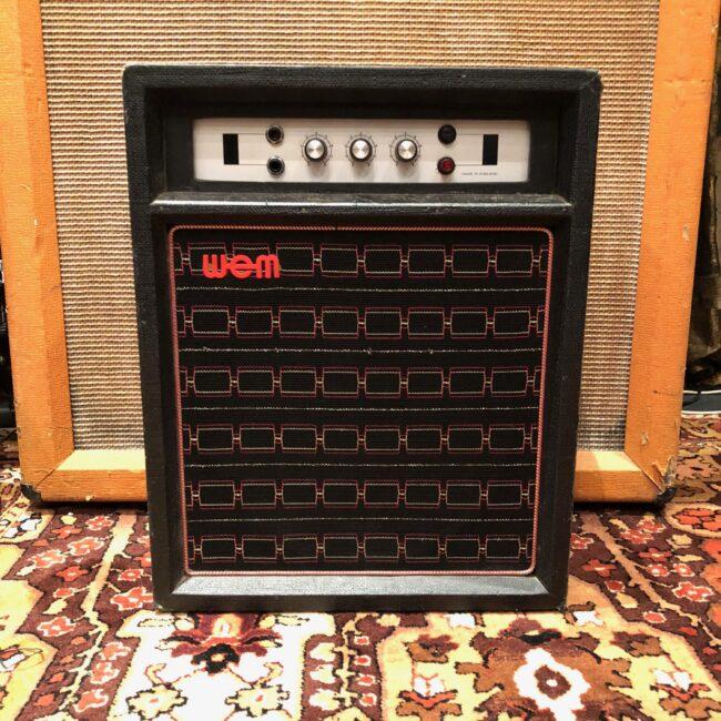 Vintage 1970s WEM Watkins Westminster MKIX Celestion Amplifier Combo