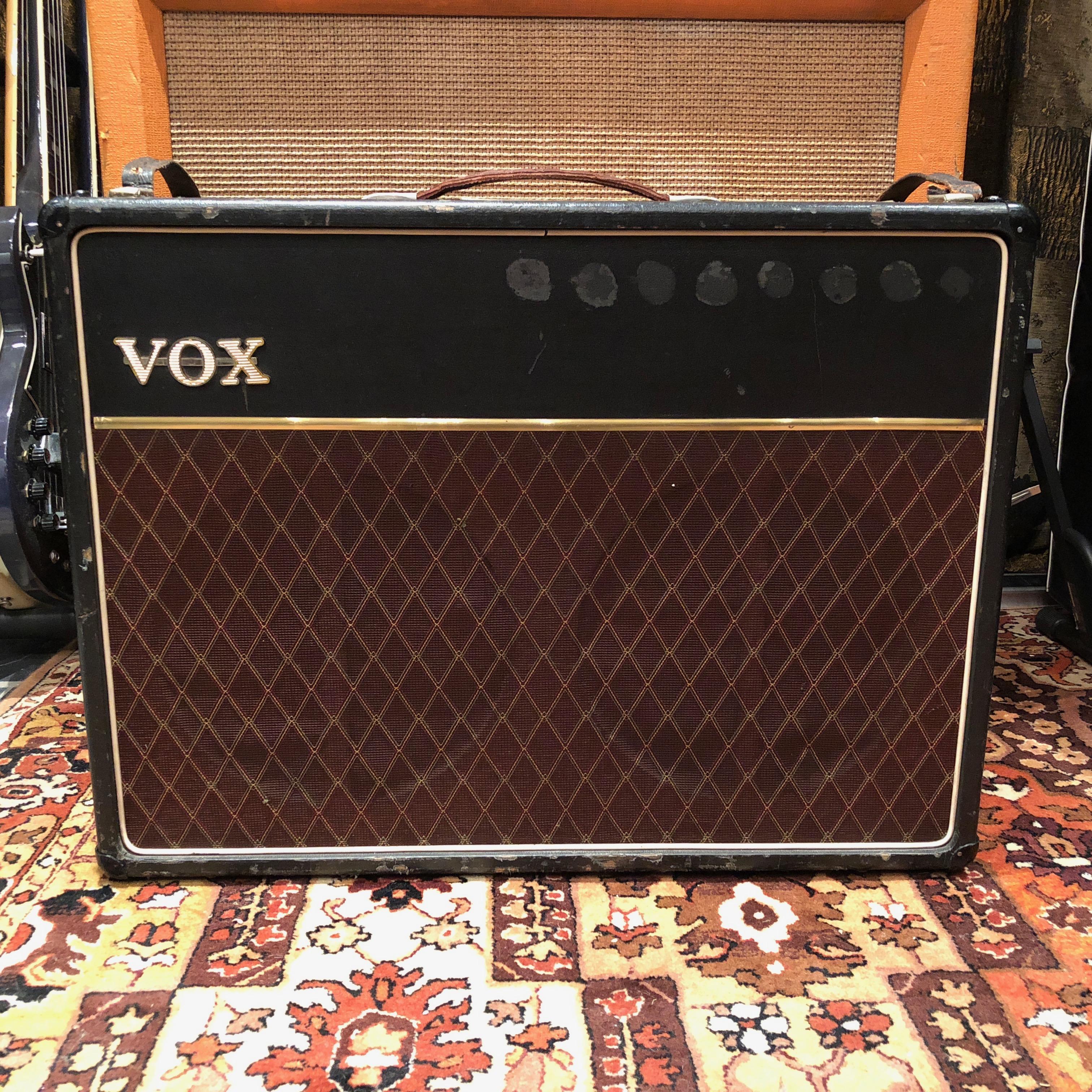 Vintage 1963 Vox AC30 2x12 Blues JMI Copper Top Amplifier