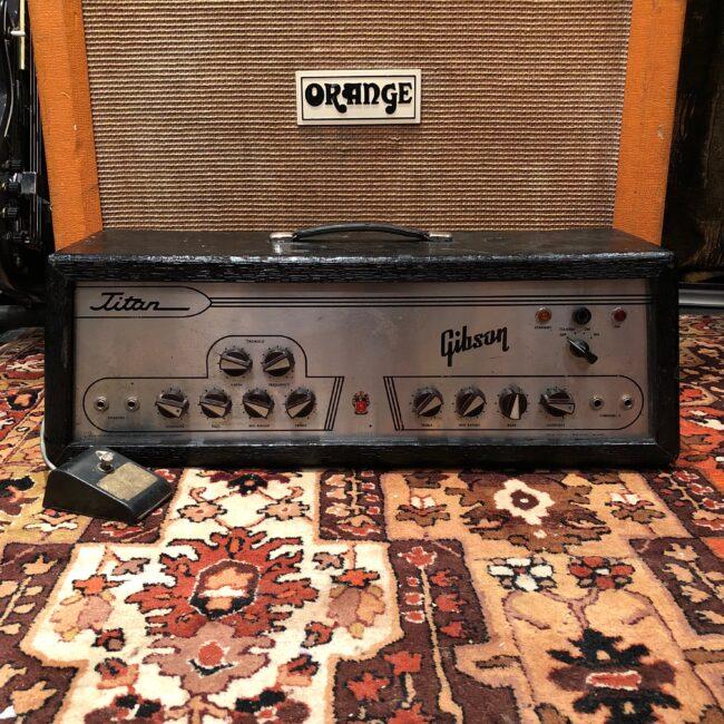 Vintage 1963 1960s Gibson Titan USA Tremolo 6L6 Valve Amplifier