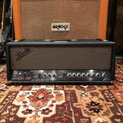 Vintage 1970s Fender 400PS KT88 Valve Bass Guitar Amplifier