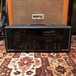Vintage 1969 Hiwatt PA200 DR203 Custom Built 6L6 Valve Amplifier