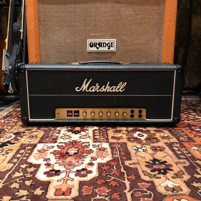 Vintage 1979 Marshall Super Bass 100w Valve Amplifier Head