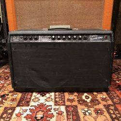 Vintage 1966 Fender Super Reverb Blackface Export 1x12 Guitar Amp