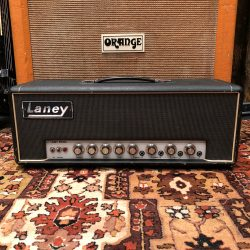 Vintage 1970 Laney Supergroup 60w Valve Guitar Amplifier Head