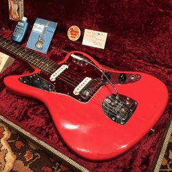 Vintage 1962 Fender Jaguar Fiesta Red Museum Condition Guitar