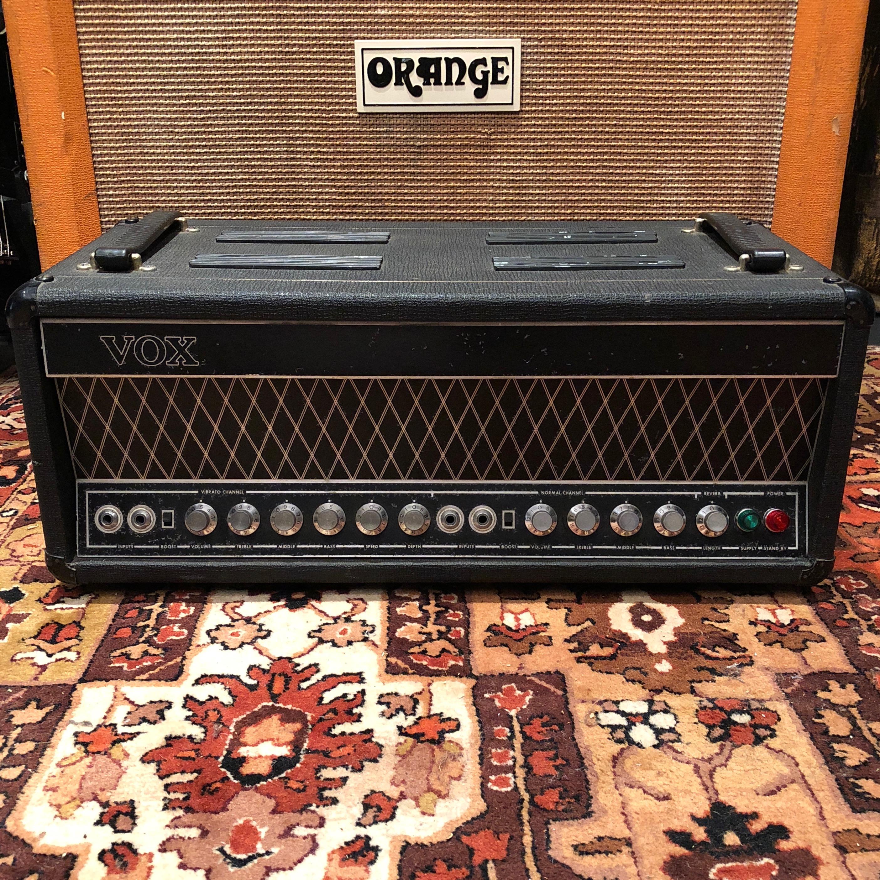 Vintage 1966 Vox UL7120 UL Series Guitar Amplifier Head