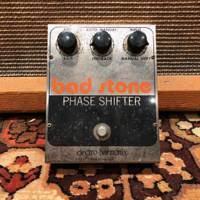 Vintage 1970s Electro Harmonix Bad Stone Phase Shifter Phaser Pedal