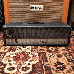 Vintage 1970s Laney Klipp PROTOTYPE The Idle Race Valve Amp