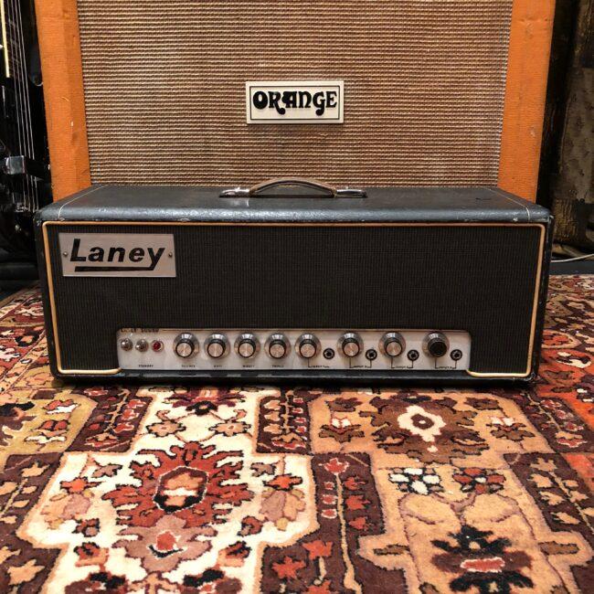 Vintage 1968 Laney Pre Supergroup 60w PA Douglas Valve Amplifier