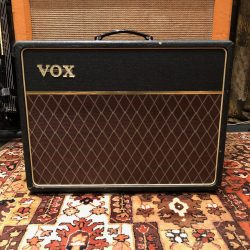 Vintage 1964 Vox AC10 Twin 2x10 Guitar Amplifier Combo