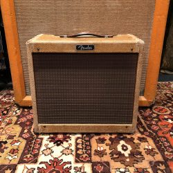 Vintage 1960 1961 Fender Princeton Tweed 5F2A Guitar Amplifier
