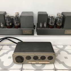 Vintage 1960s Quad 22 Control Unit and Quad II Amplifiers