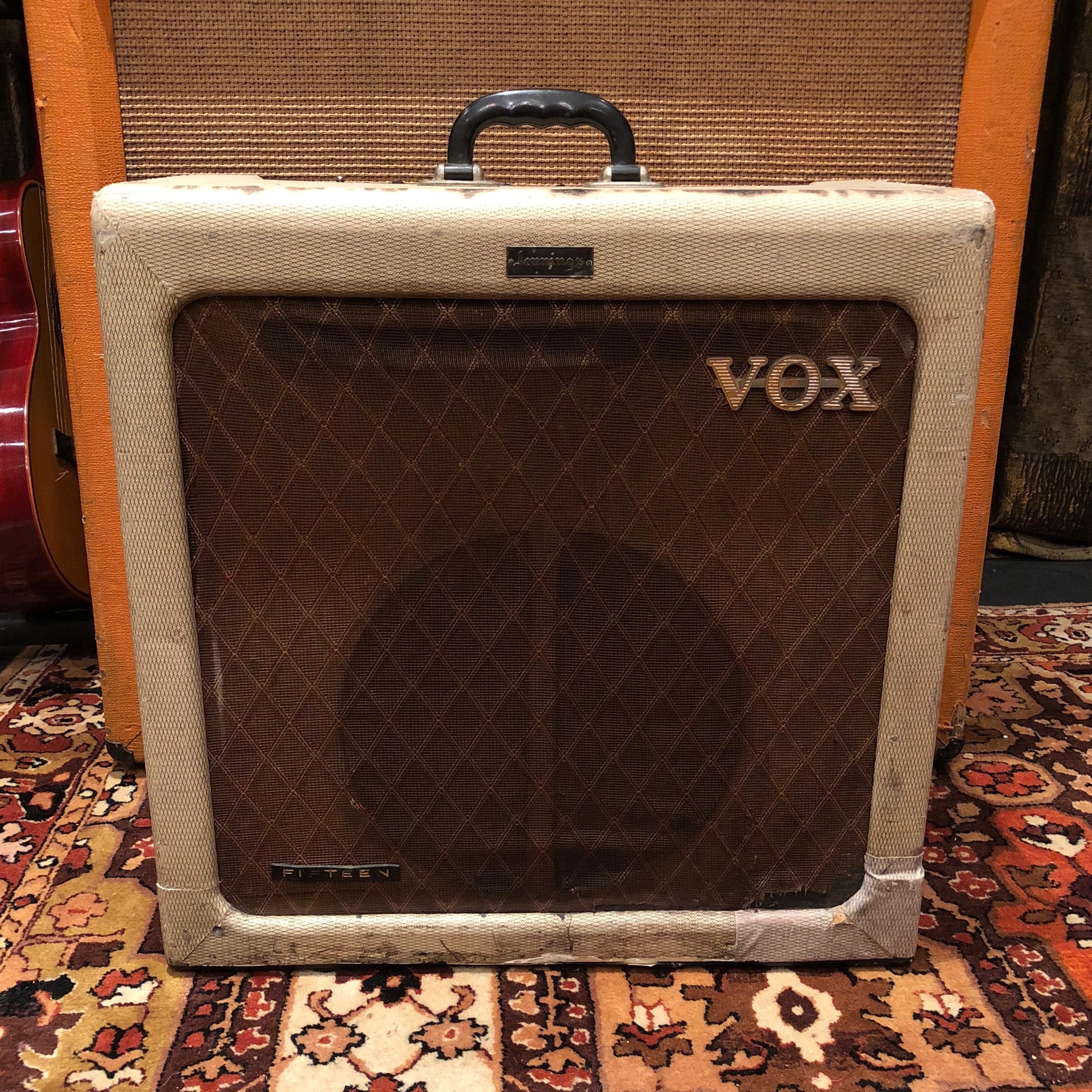 Vintage 1960 Vox AC15 TV 1x12 T530 Valve Amplifier Combo