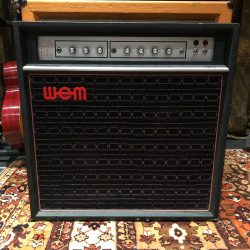 Vintage 1970s WEM Watkins Dominator Fifty 50 Goodmans Amplifier