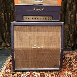 Vintage 1968 Marshall JMP 50 Plexi Custom Purple Stack Amplifier
