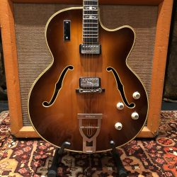 Vintage 1964 Hofner Committee E2 Brunette Electric Guitar 6.4lbs