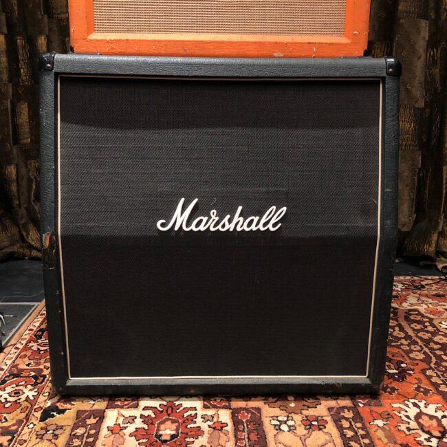 Vintage 1977 Marshall 4x12 Model 1982 120w Guitar Cabinet