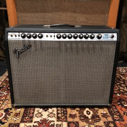Vintage 1977 Fender Twin Reverb Silverface Valve Amplifier Combo