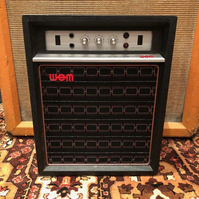 Vintage 1970s WEM Watkins Clubman MKIX 1x12 Valve Amplifier Combo