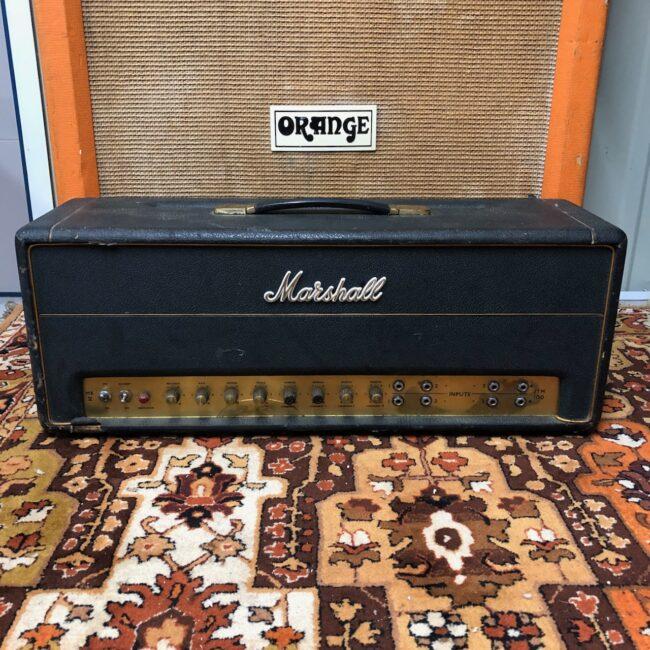 Vintage 1966 Marshall Jtm45 100 Plexi Super Pa Valve Amplifier